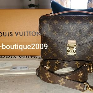 LOUIS VUITTON MONO POCHETTE METIS SHOULDER BAG